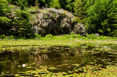Three mile lake in Killarney
