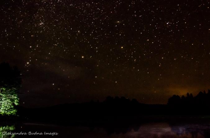starry night over Kearney Lake
