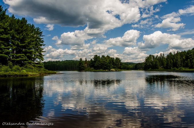 Kearney Lake in Algonquin