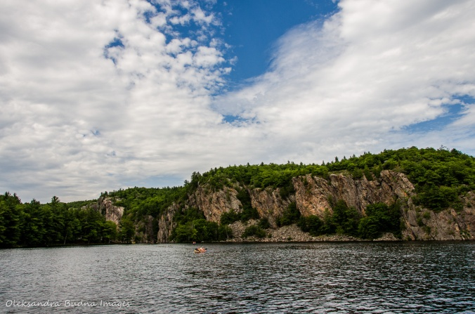 Mazinaw Rock at Bon Echo