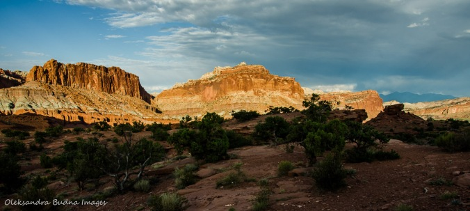 Panorama Point in Capitol Reef