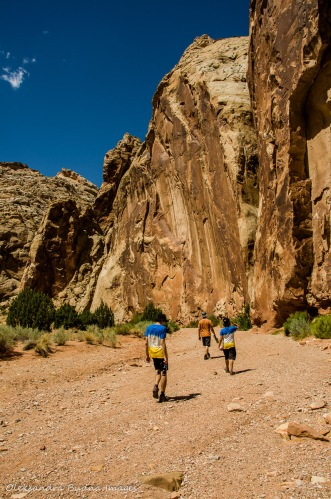 Grand Wash Trail in Capitol Reef