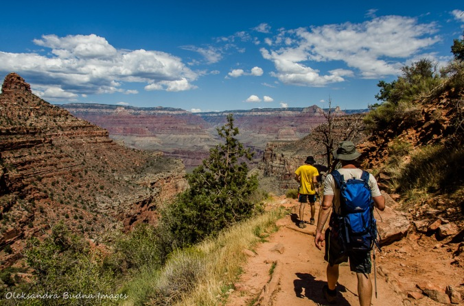 Bright Angel Trail in Grand Canyon
