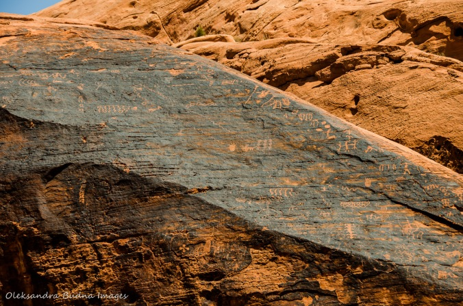 petroglyphs at Valley of the Fire
