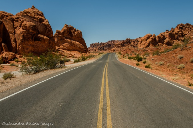 valley of the fire in Nevada