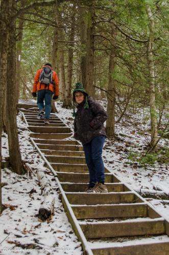 Bruce Trail near Devil's Pulpit