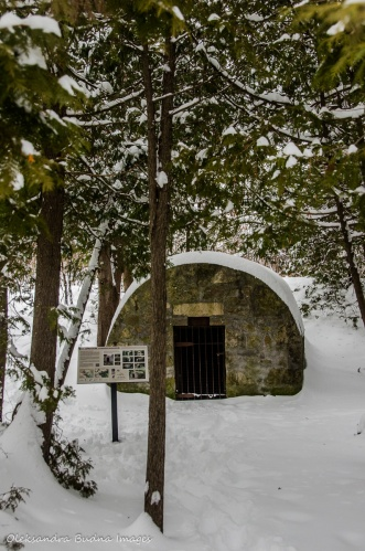 Powder house at Limehouse Conservation Area