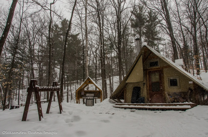 four-season tent at Gatineau Park
