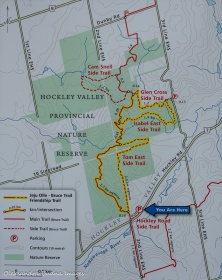 Hockley Valley Provincial Park map