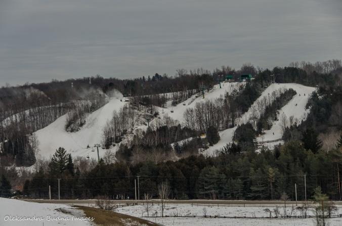 Hockley Valley ski hill