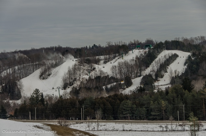 Hockley Valley ski hill