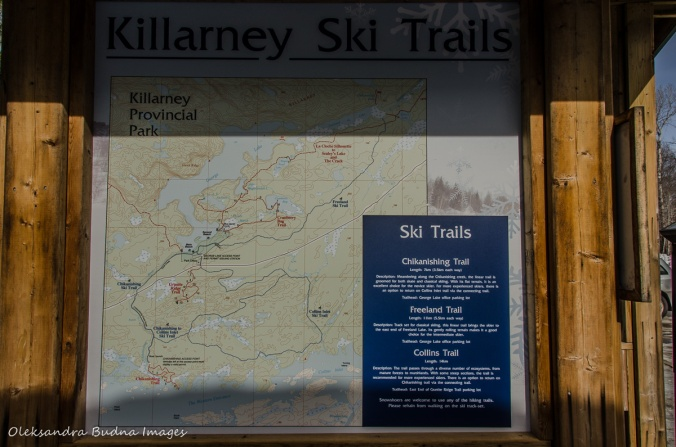 Killarney winter trails map