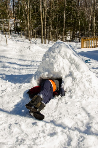 building an igloo