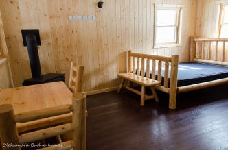 cabin 137 at Killarney Provincial Park
