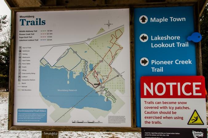 Mountsber Conservation Area map