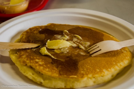 pancakes at Mountsber Conservation Area