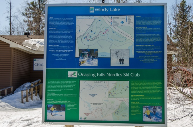 map of Windy Lake Provincial Park