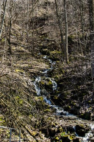 waterfalls along Bruce Trail