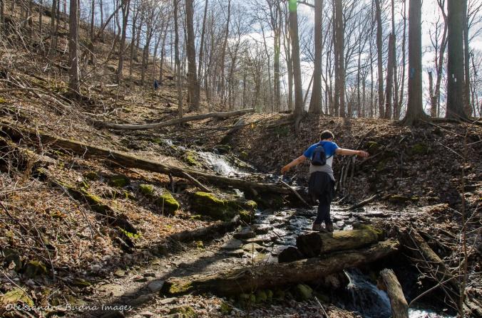 hiking Bruce Trail around Hamilton