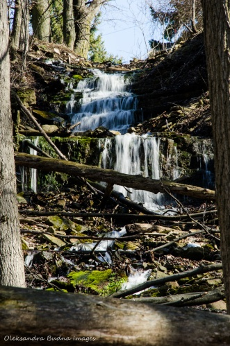 waterfalls along Bruce Trail