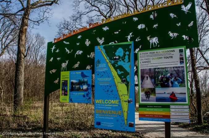Point Pelee information panle