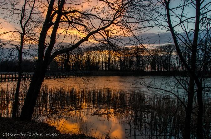 sunrise at Wheatley Provincial Park