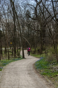 biking at Point Pelee