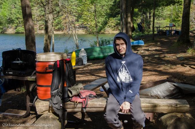 campsite in Frontenac
