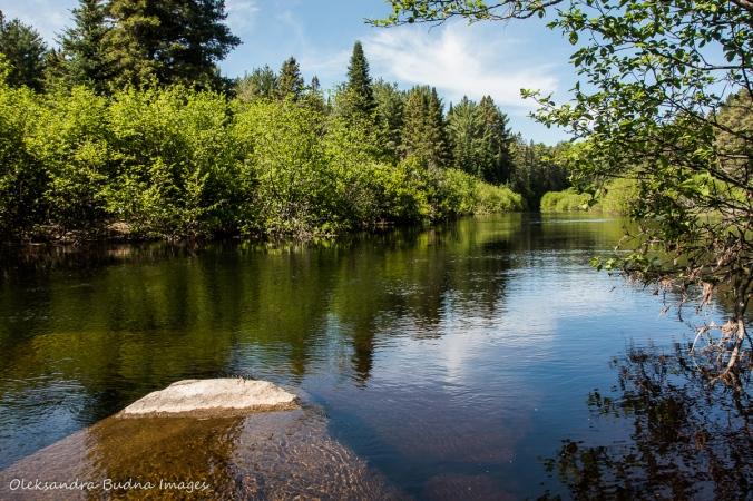 Madawaska River near Pog Lake Campground