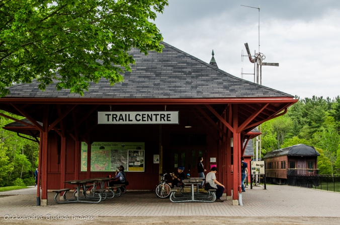 trail centre at Dundas Valley Conservation Area