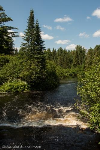 Madawaska River in Algonquin