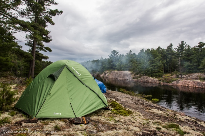 campsite c3 at point grondine park