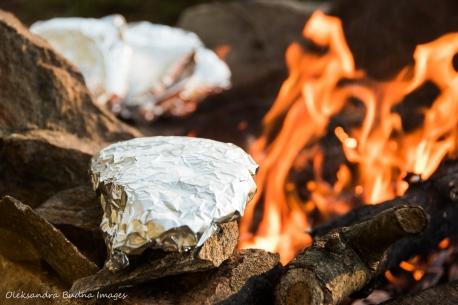 making grilled cheese pita pockets