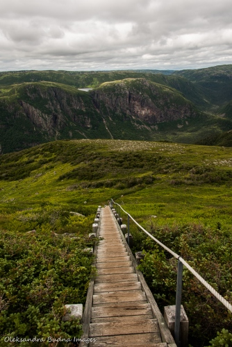 Gros Morne Mountain Trail in Newfoundland