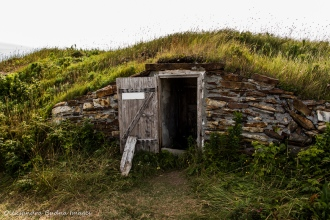 Elliston, the root cellar capital of the world in Newfoundland