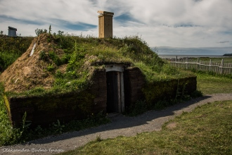 LÀnse aux Meadows National Historic Site in Newfoundland