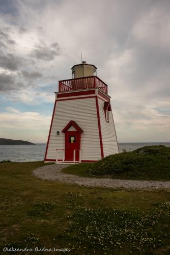 Lighthouse in St. Anthony, Newfoundland