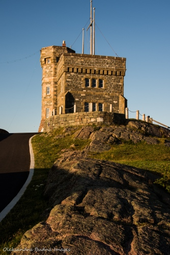 Signal Hill in St. John`s, Newfoundland