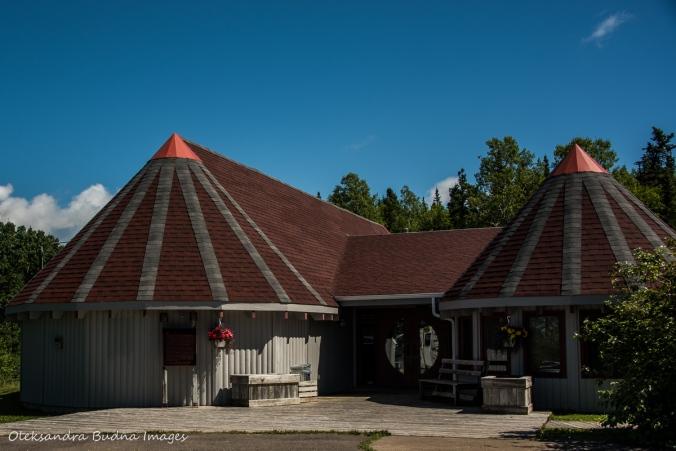 Beothuks Interpretive Centre in Boyd`s Cove, Newfoundland