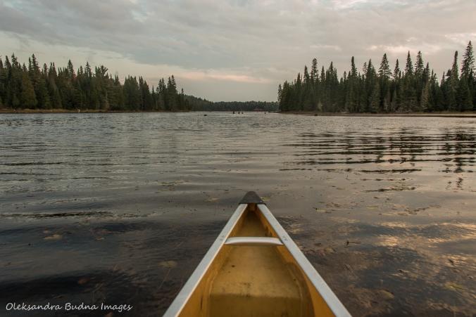 paddling on Little Joe