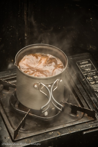 coffee on a campstove