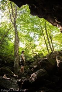 Lusk Cave in Gatineau Park