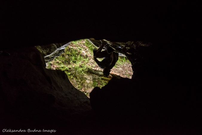 view from Lusk Cave in Gatineau