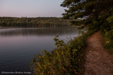 Lake Philippe in Gatineau Park