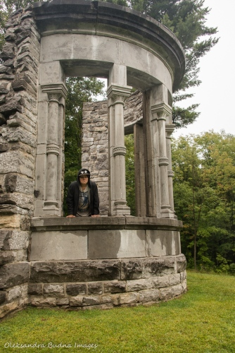 ruins at Mackenzie Estate in Gatineau Park