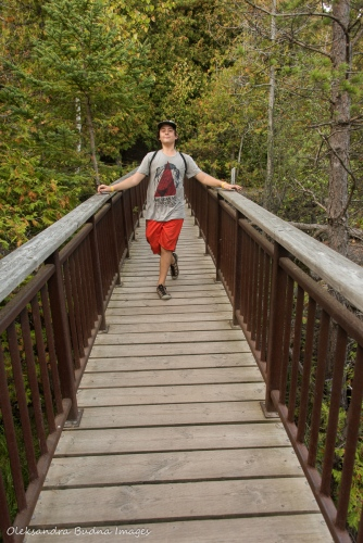 hiking at Rockwood Conservation Area