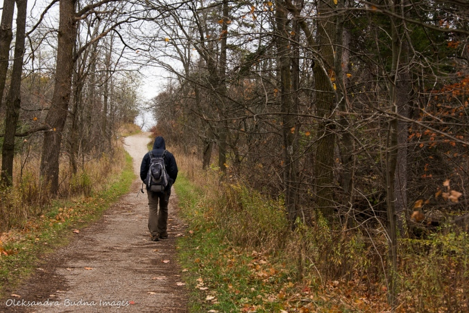 hiking at Kelsp Conservation Area