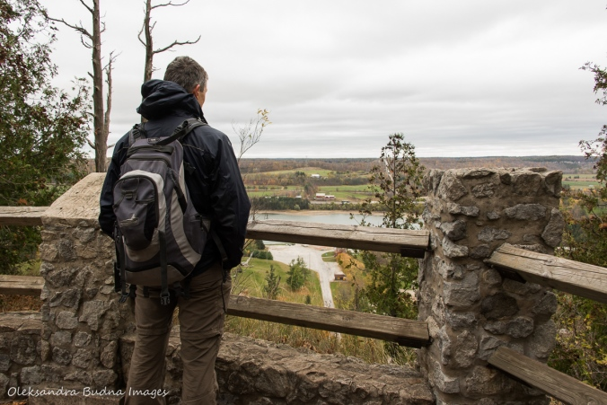 enjoying the view at Kelso Conservation Area