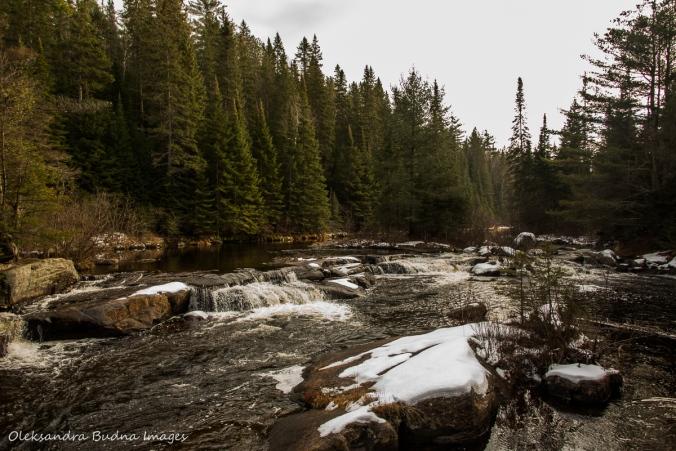 Madawaska River rapids