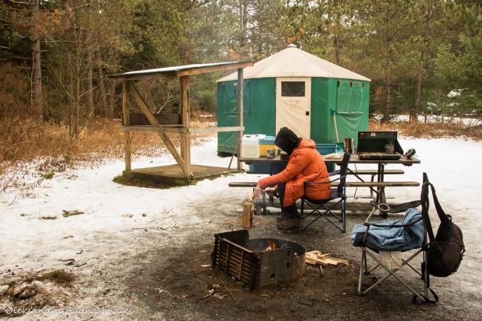 yurt 34 in Algonquin
